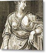 Agrippina Wife Of Tiberius Metal Print