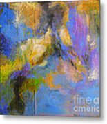 Agua Metal Print by Melody Cleary