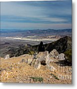 Aguereberry Point View Of Death Valley #4 Metal Print