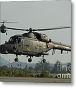 Agustawestland Lynx Helicopters Metal Print