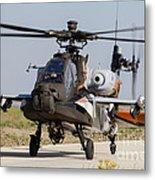 Ah-64d Apache Longbow Of The Royal Metal Print