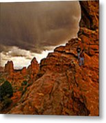 Ahead Of The Storm Metal Print