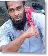 Ahmed For Fish Metal Print
