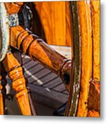 Ahoy Matey Metal Print