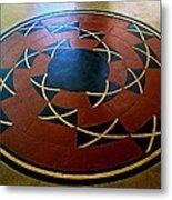 Ahwahnee Hotel Floor Medallion Metal Print