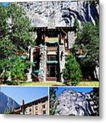 Ahwahnee Hotel In Yosemite National Park Metal Print