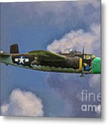 Air Apaches B-25j Metal Print