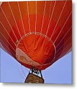 Air Balloon Festival In Igualada Metal Print