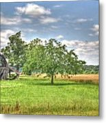 Air Conditioned Barn Metal Print