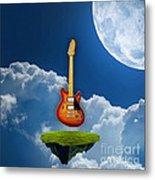 Air Guitar Metal Print