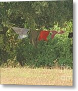 Air Out Your Dirty Laundry Metal Print