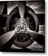 Air Power Metal Print