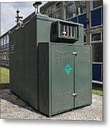 Air Quality Monitoring Station Metal Print