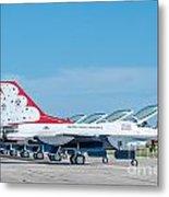 Air Show Thunderbirds  Metal Print