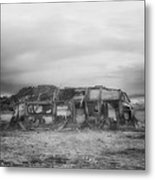 Air Stream Cannibalized Metal Print