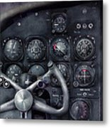 Air - The Cockpit Metal Print