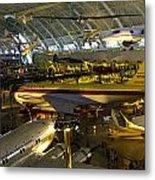 Air Traffic Metal Print