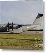 Airbus A400m For The French Air Force Metal Print