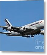Airbus A80 Metal Print