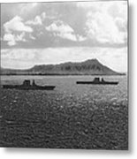 Aircraft Carriers In Hawaii Metal Print