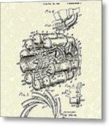 Aircraft Propulsion 1946 Patent Art Metal Print