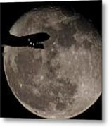 Aircraft Silhouette Metal Print