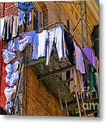 Airing Out The Drawers By Diana Sainz Metal Print