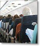 Airline Travel. Metal Print