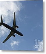 Airplane Iv Metal Print