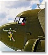 Airplane Named Southern Crosss Metal Print