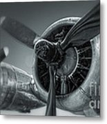 Airplane Propeller - 02 Metal Print