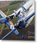 Airplanes Perform At The Sound Of Speed Metal Print