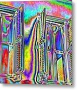 Airy Metal Print