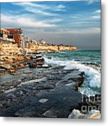 Aktau City Metal Print