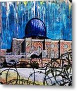 Al-asqa Mosque Palestine Metal Print by Salwa  Najm
