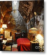 Al Capone's Cell Metal Print