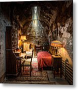 Al Capone's Cell - Historical Ruins At Eastern State Penitentiary - Gary Heller Metal Print