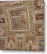 Al Fresco Ceiling Metal Print