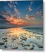 Al Hamra Sunset Metal Print