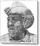 Cowboy Al Holman  Metal Print