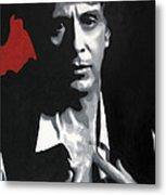 Al Pacino  Metal Print by Luis Ludzska