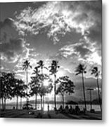 Ala Moana Beach Park Metal Print