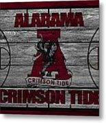 Alabama Crimson Tide Metal Print