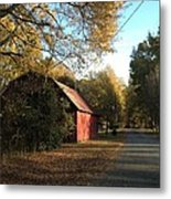 Alabama Red Metal Print