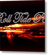 Alabama - Roll Tide Metal Print