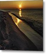 Alabama Sea Cliffs Metal Print