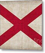 Alabama State Flag Metal Print