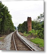 Alabama Tracks Metal Print