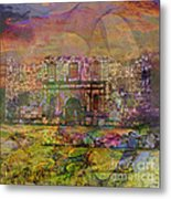 Alamo After The Fall - Square Version Metal Print