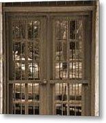 Alamo Door Metal Print